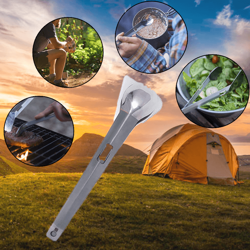 Hirundo Titanium Outdoor Cooking Multi-Function Tool - PAPA BEAR HOME