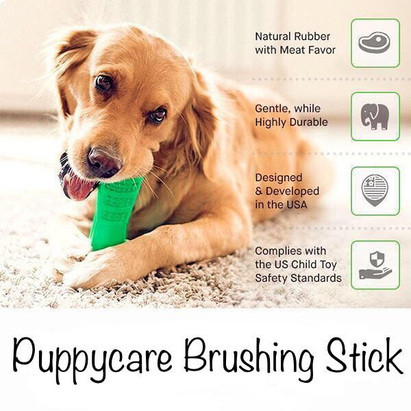 Puppycare Brushing Stick - PAPA BEAR HOME