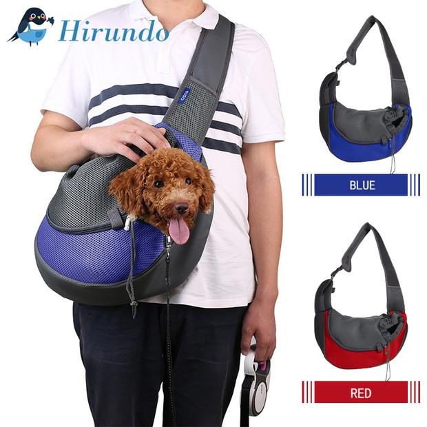Hirundo Soft Sling Pet Carrier Bag - PAPA BEAR HOME