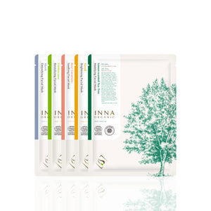 Facial Masks All-in-One (Pack of 5) - Inna Organic