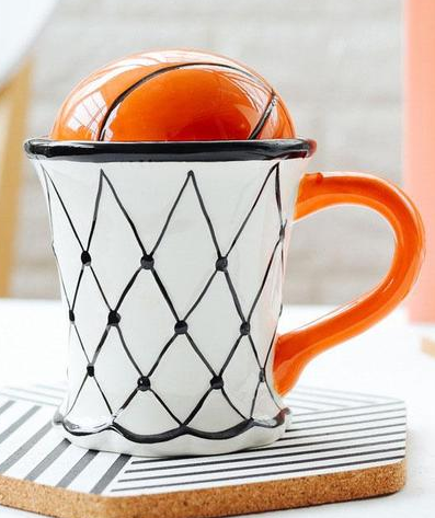 Basketball Tea Cup