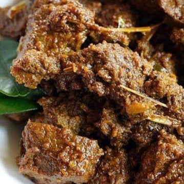 Tender Beef Rendang - Served with Aromatic  Rice (MSF)