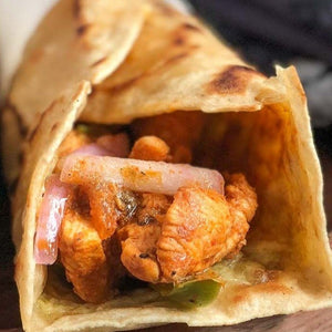 Masala Chicken Wrap - Masala spiced chicken