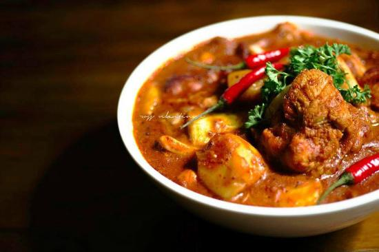 Devil's Chicken Curry