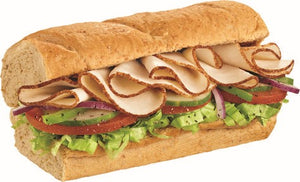 Turkey Ham Subwich -  Oatmeal Honey roll (MSF)