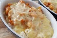 Cheese Baked Rice (MSF)