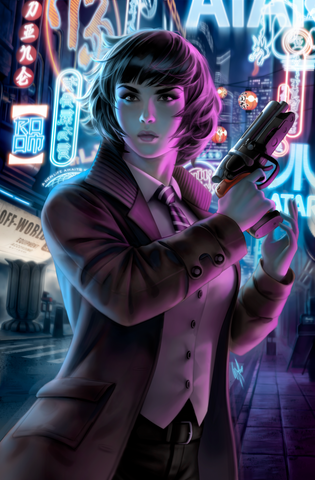 BLADE RUNNER #1 WARREN LOUW STORE EXCLUSIVE