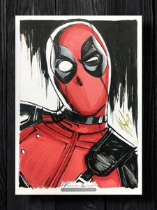 DEADPOOL Original Art
