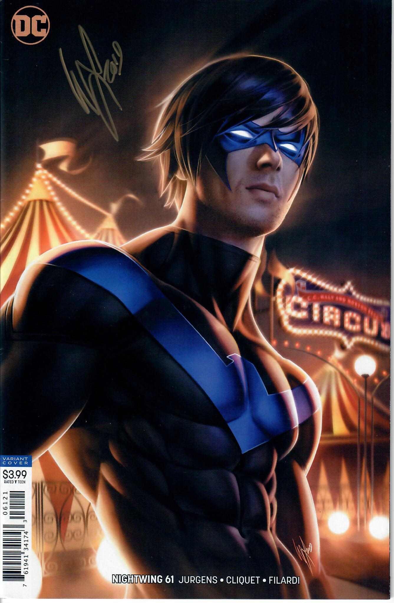 NIGHTWING #61 SIGNED WITH COA