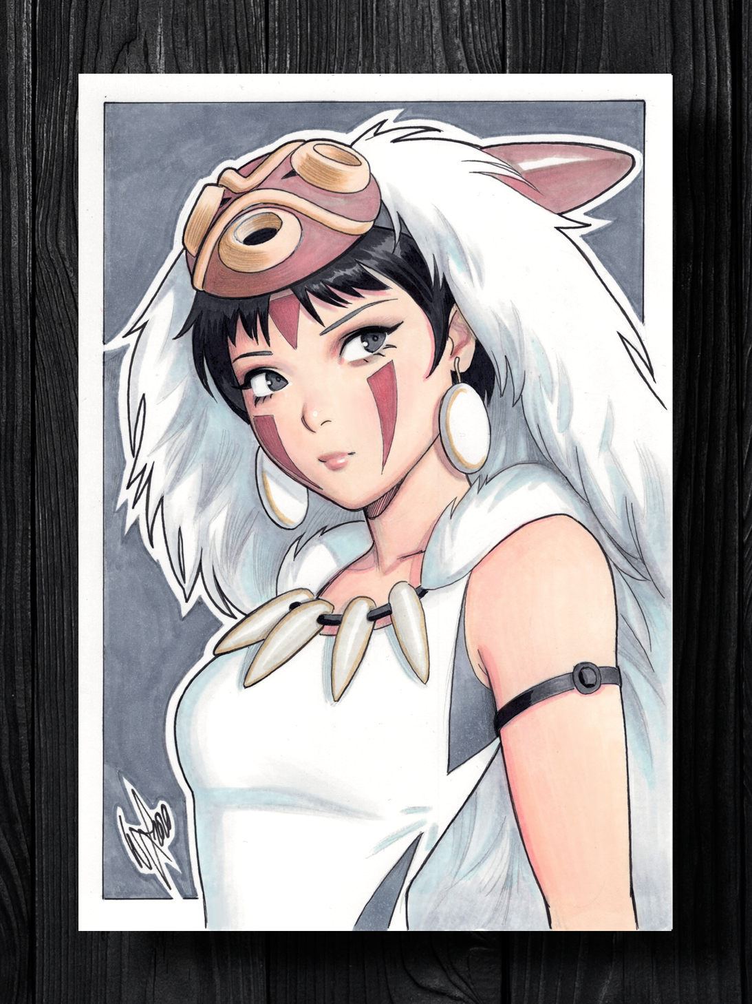 Princess Mononoke Original Art