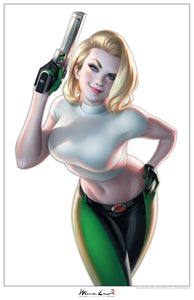 DANGER GIRL PRINT