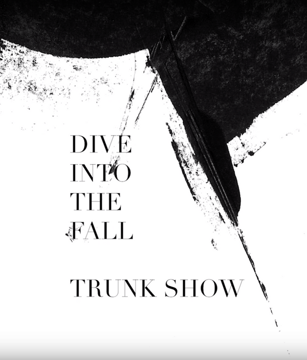 DIVE INTO THE FALL Trunk Show at Daikanyama, Tokyo