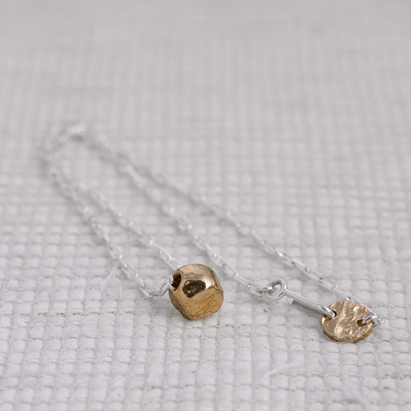 Gyokuro Necklace 18k Yellow Gold [Collaboration with Tomo Kishida]