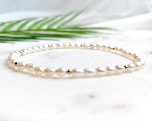 Mother of Pearl  I Anklet