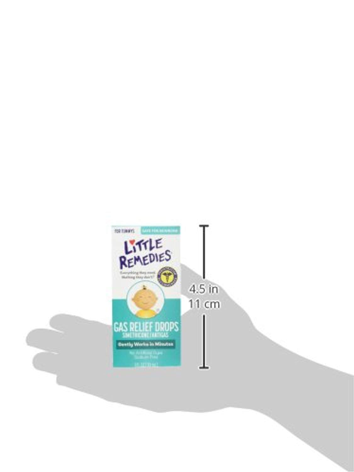 Little Remedies Gas Relief Drops | Natural Berry Flavor | 1 oz. | Pack of 3 | Gently Works in Minutes | Safe for Newborns
