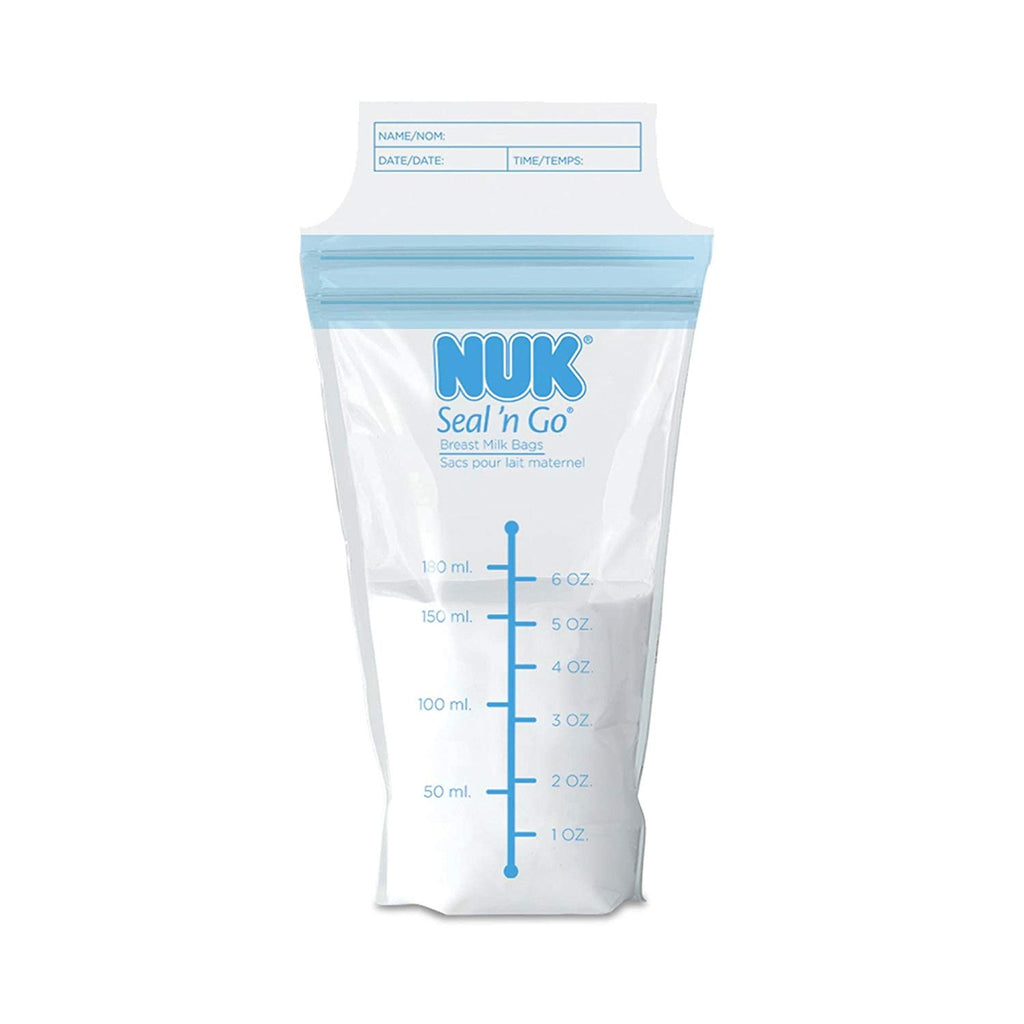 NUK Seal N' Go Breast Milk Bags, 50ct
