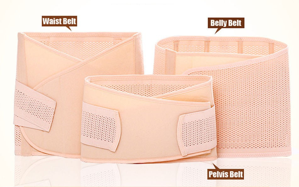 3 in 1 Belly/Abdomen/Pelvis Postpartum Belt Body Recovery