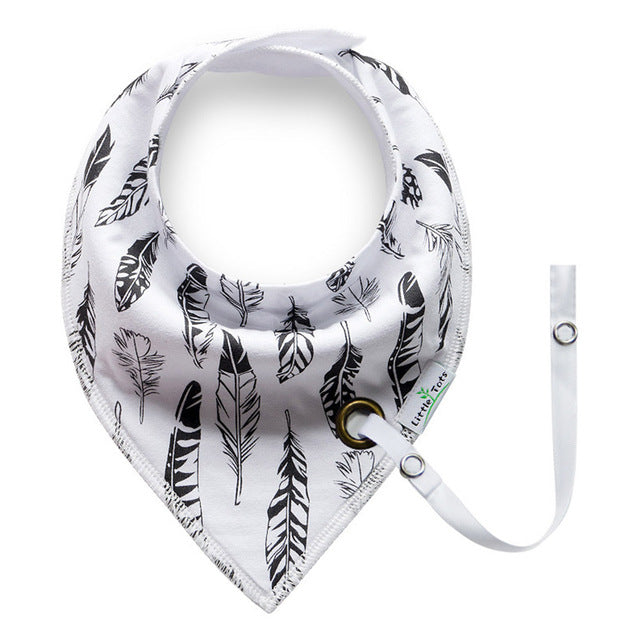 Touchcare 1pc Bandana Baby Bibs (Multiple Colors)