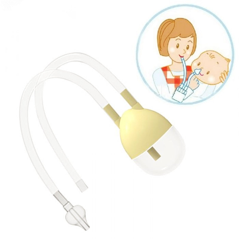 Baby Vacuum Suction Nasal Aspirator, Safety Nose Cleaner
