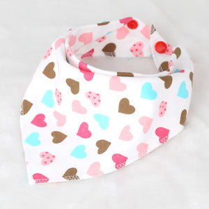 Kacakid 1pc Bandana Baby Bibs (Multiple Colors)