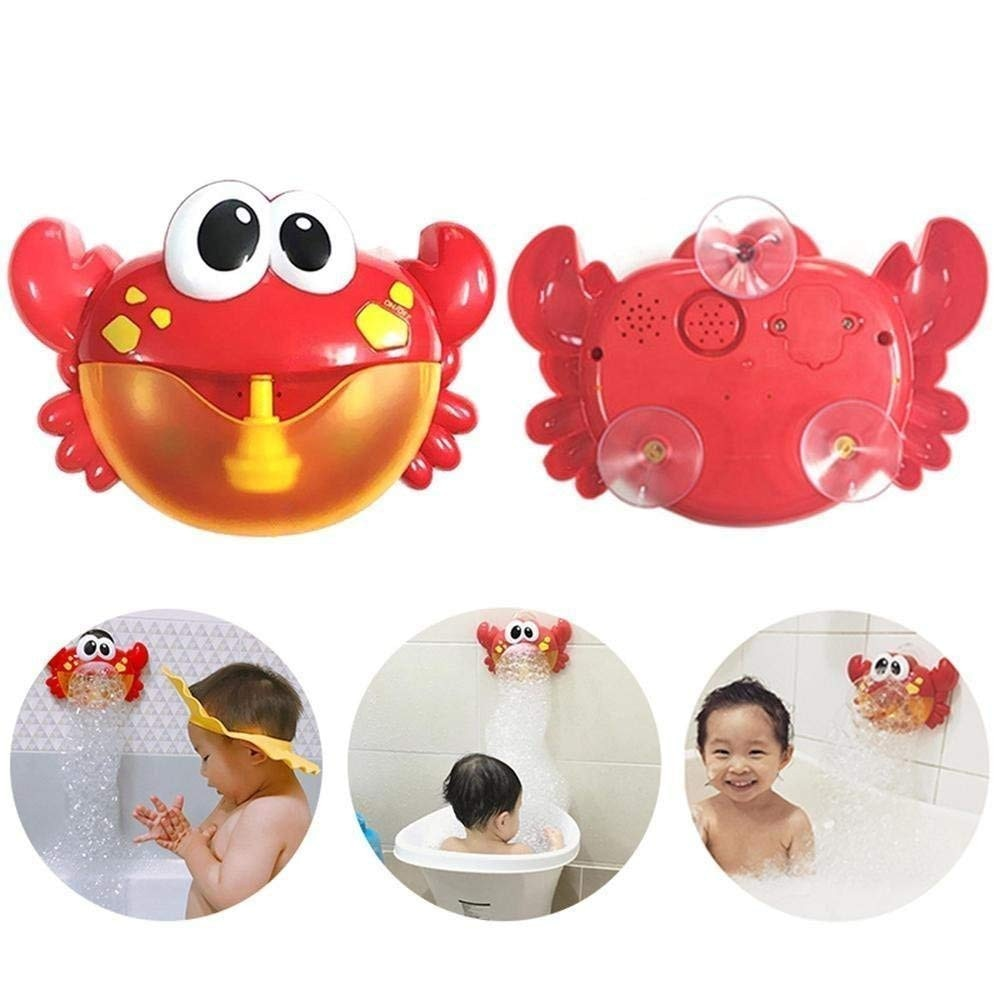 Big Crab Automatic Bubble Maker with Music