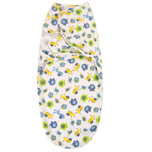 Newborn Baby Cartoon Swaddle Wrap