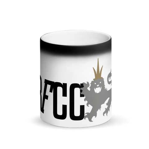 RFCC Matte Black Magic Mug