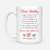 Happy Father's Day To My One And Only Hero Gift For New Dad White Mug