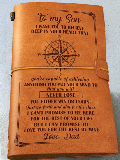 Famth - son, i want you to believe deep in your heart notebook