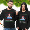 Cocaine Snow Man Let It Snow Christmas Sweater Christmas Gift
