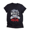 World's most awesome mum shirt Gift for mom