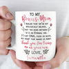 Thanks for loving me as Your Own - Personalized bonus mom gift