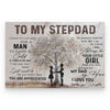 To My Stepdad I Know It's Not Easy Poster
