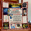 G1 To My Daughter Seniors 2021 Blanket - Gift For Daughter From Mom And Dad Gsge