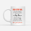 Dear Step Dad How Blessed I Feel To Have A Step Dad Just Like You White Mug - Gift For Stepdad