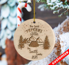 Personalized The Best Memories Are Made Camping Ornaments Christmas Gift