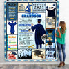 Personalized Gift For Graduated Student Senior 2021 Happy Graduation Blanket