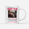 Personalized To My Daddy To Be From Baby Bump Mug Gift For New Dad