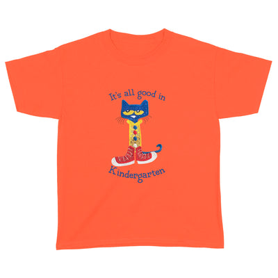 It's All Good In Kindergarten Cat Youth Shirt - Back To School Shirt