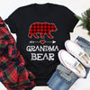 Grandma Bear Pajama Red Plaid Buffalo Christmas Gifts For Grandma For Mom