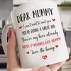 Dear Mummy You're My Hero Mug Gift For Mum To Be