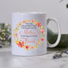 You are my friend floral mom mug Gift for mom from daughter