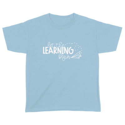 G2 Let's The Learning Begin Shirt - Back To School Shirt