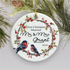 Customized First Christmas Married Ornament