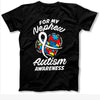 For My Nephew Autism Shirt Gift For Aunt
