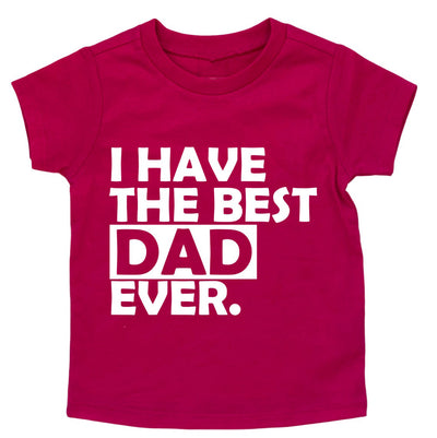 Best Dad Ever Youth T Shirt - Fathers Day Shirt