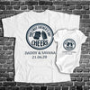 Personalized Shirt for Dad and Baby - Father & Son Shirt