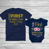 Personalized Our First Father's Day Daddy And Me Floral Matching Shirts Dad And Baby Gift
