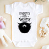 Daddy's Little Beard Puller Baby Onesie - Cute Onesies - Fathers Day Shirt