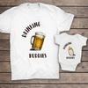 G2 Drinking Bubbies Matching Shirt Dad And Baby Gift